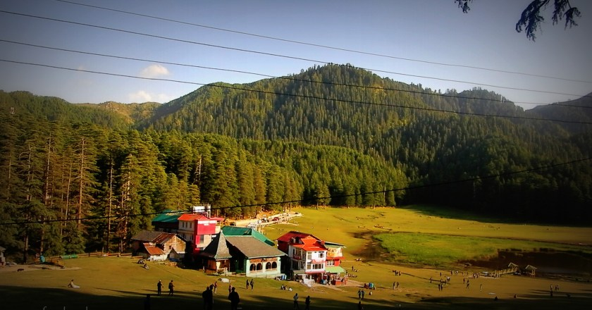 In the ambiance of Khajjiar – En route to the Mini Switzerland of India