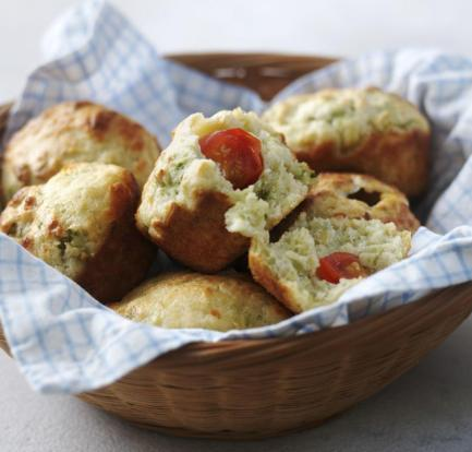 Cheese and courgette muffins – Recipe 2