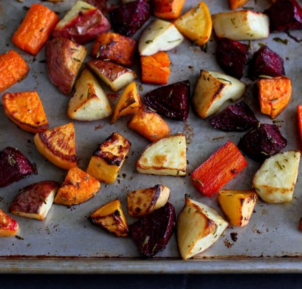 Roast root vegetables – Recipe 1