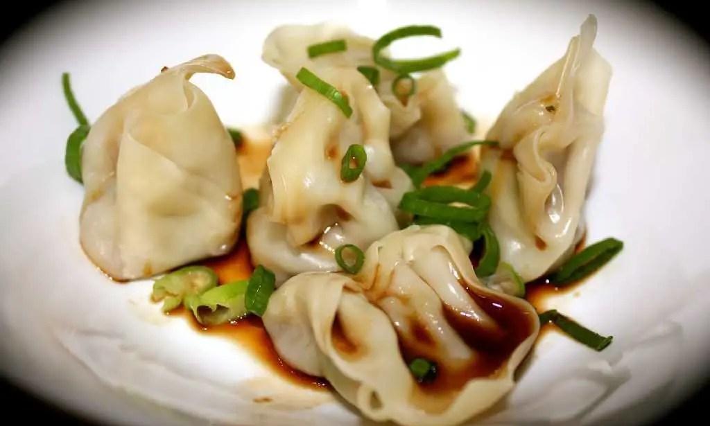 Steamed pork and prawn dumplings – Recipe 1