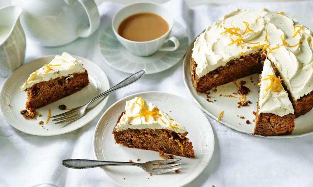 Sugar-free carrot cake food recipes