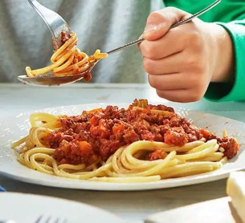 Vegetarian bolognese food recipes