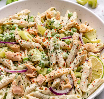 Healthy tuna pasta salad – Recipe 6