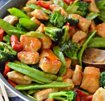 Chicken stir fry food recipes