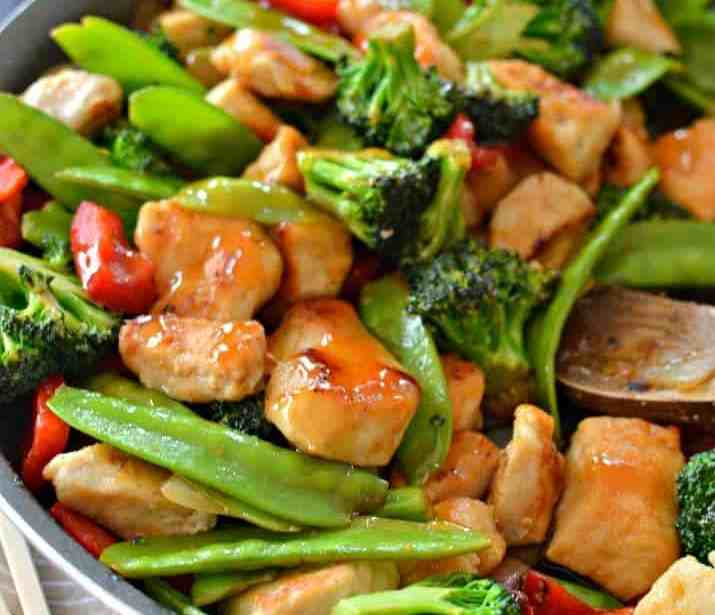 Chicken stir fry food recipes