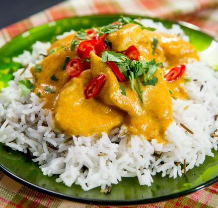 This delicious 'Buttermilk Chicken Curry' is perfect for a cold night 5
