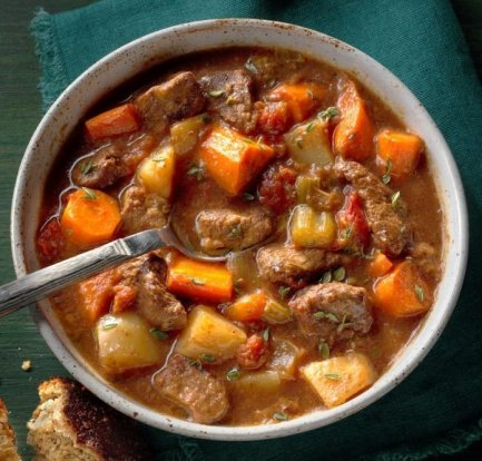 Slow cooker beef stew: Recipe 1