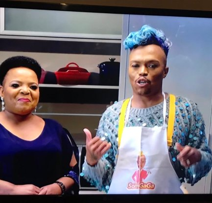 Dr Rebecca Malope, a total vibe as Somizi schools her on the 'church of Taboo' in #DinneratSomizis 1