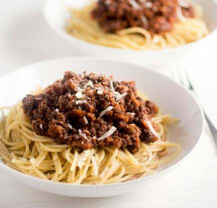 Quick sausage Bolognese – Recipe 10
