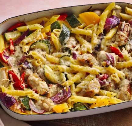 Creamy sausage pasta bake – Recipe