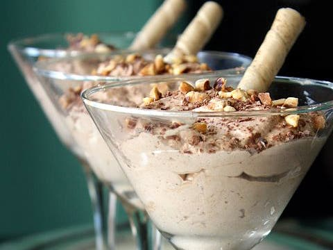 This is how to make Chocolate hazelnut mousse
