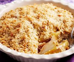 Apple and pear crumble – Recipe 5