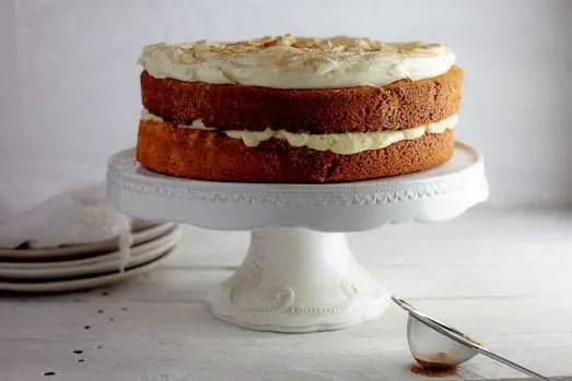 Milk tart layer cake – Recipe 1