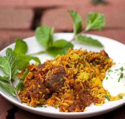 Easy lamb biryani – Recipe 1