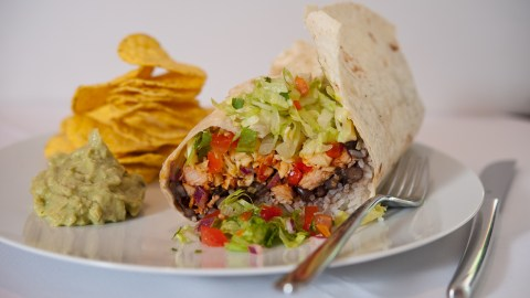 Qrito Burrito Guacamole