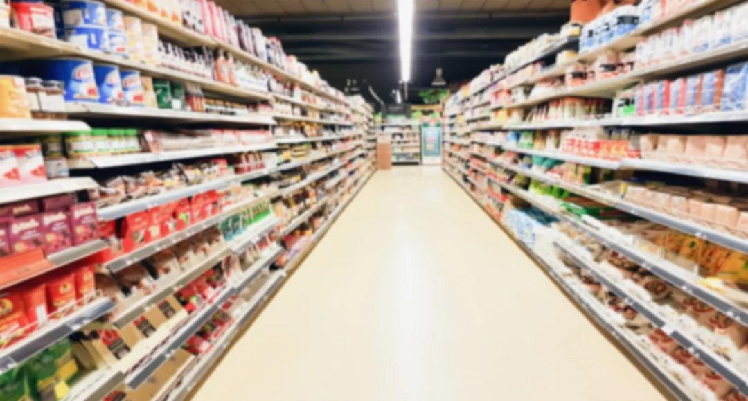 一家超市的過道