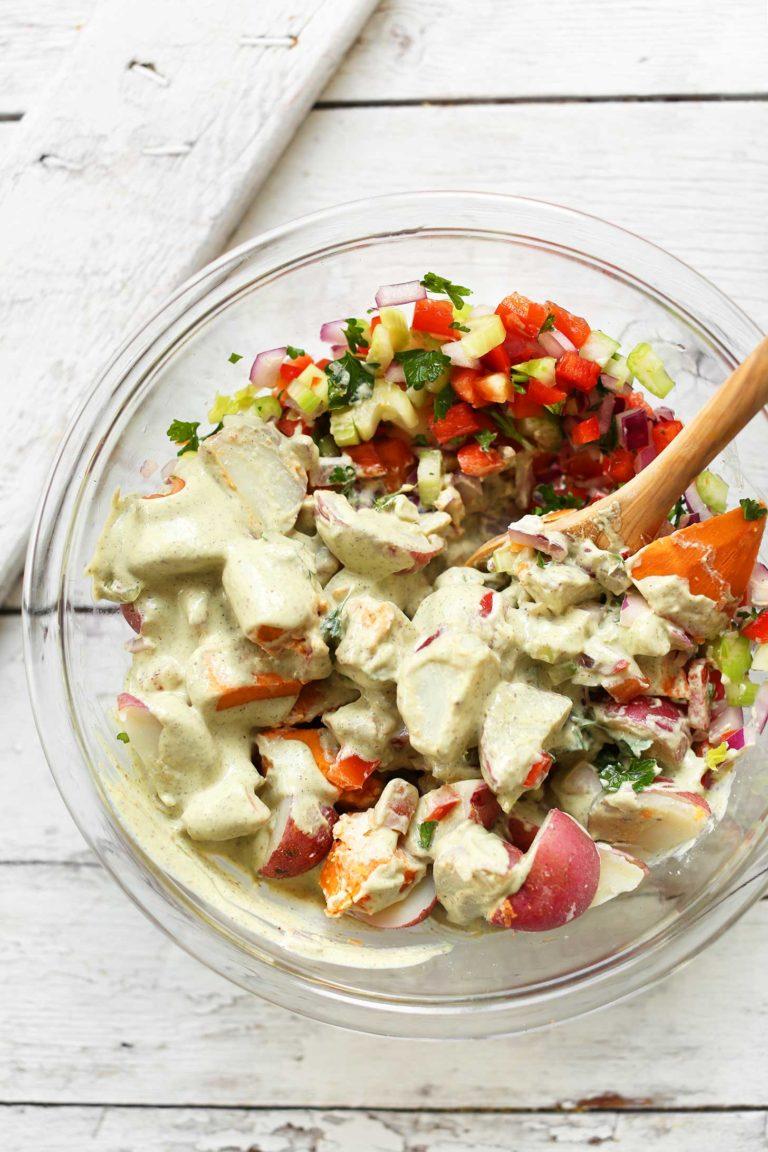 簡單的土豆沙拉