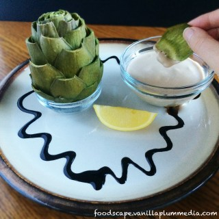 How to Prepare an Artichoke and Easy Hollandaise Dip
