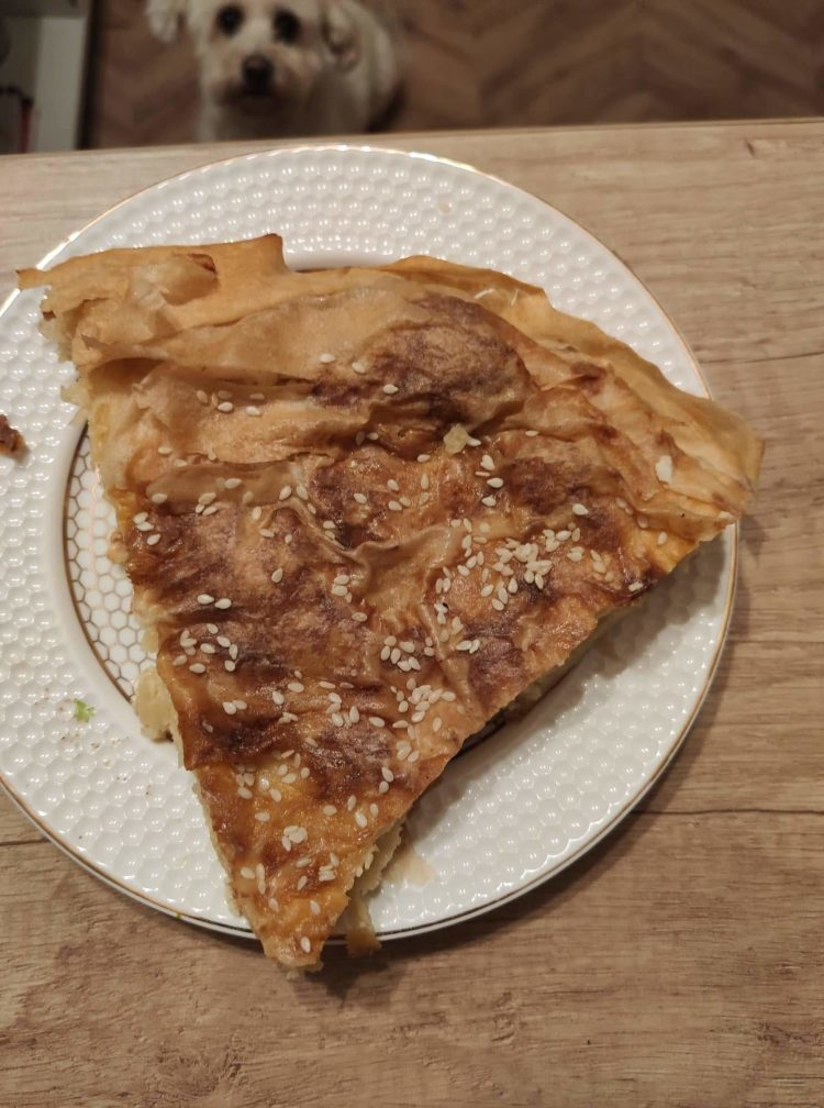 phyllo dough recipe with cottage cheese