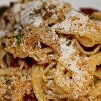 Free For All Friday: Chicken Carbonara
