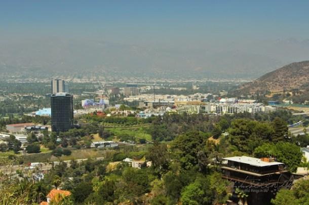Universal City von oben