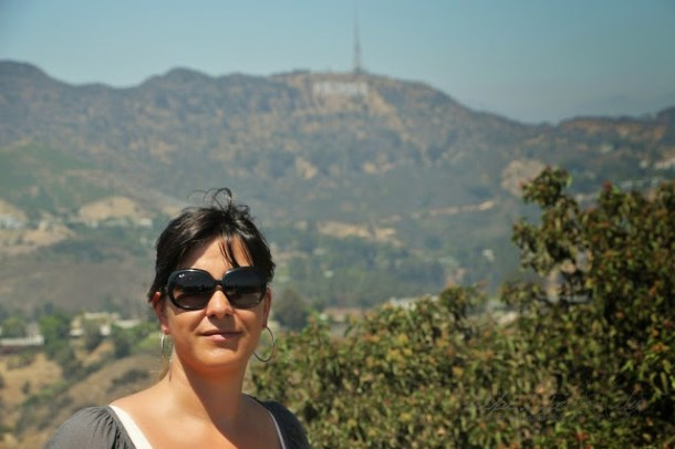 Wunderbarer Blick auf das Hollywood-Sign