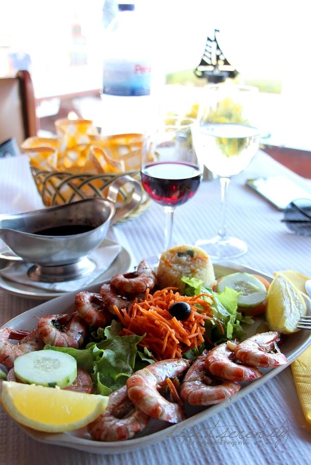 Restaurant in Sagres, Portugal