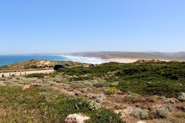 Estrada da Praia, Carrapateira