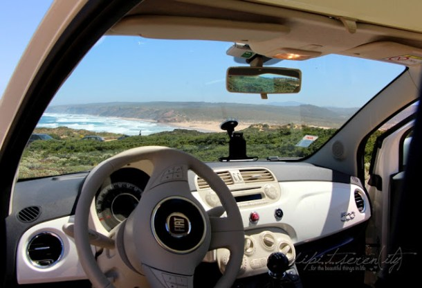 Mietwagen Fiat 500, Portugal