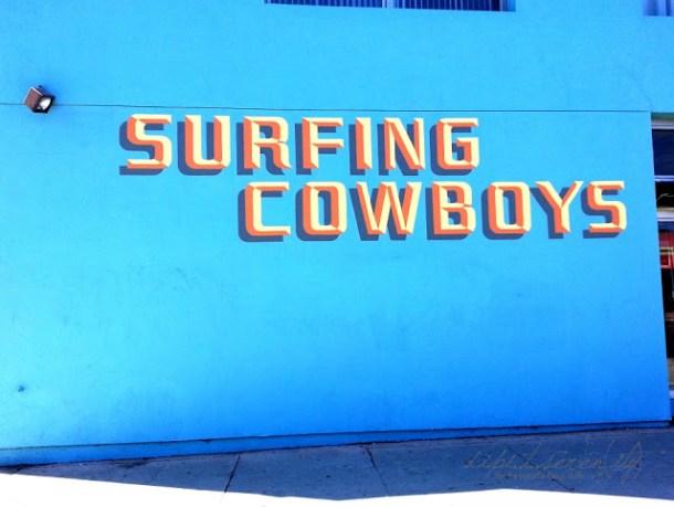 Surfing Cowboys nur in Los Angeles
