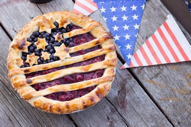 Kirsch - Pie im USA Style