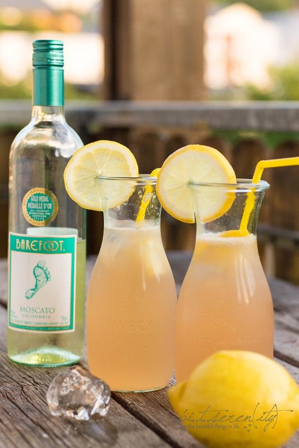 Barefoot Moscato Lemonade