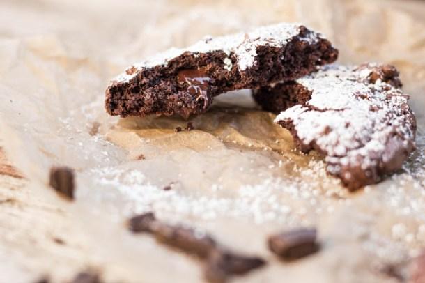 Volle Dröhnung Schokolade - Schoko Kekse