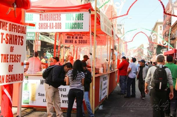 Italienisch Essen in New York,  Festa di San Gennaro