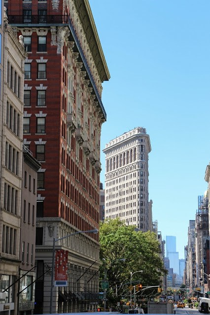 Flat Iron Building, New York City, dipitserenity - Das Bügeleisen