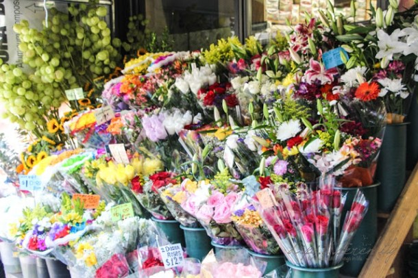 Flower Stand in New York City