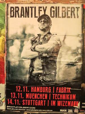 Tour Plakat Brantley Gilbert