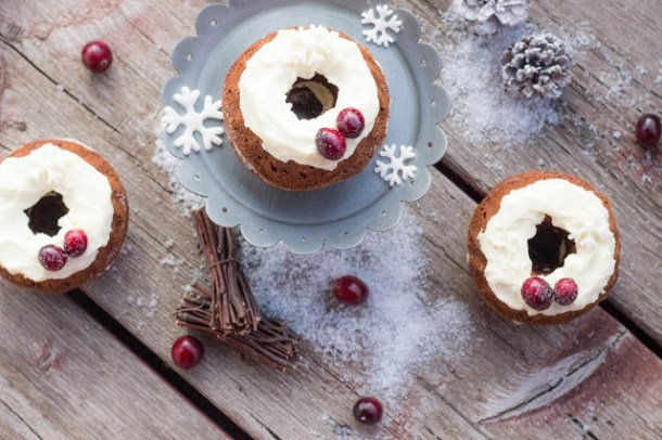 Gingerbread Cake mit Frosting aus dem New York Christmas Buch