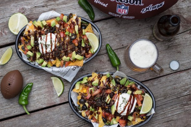 dipitserenity - Beer Pulled Pork Nachos - Super Bowl 50 Snack