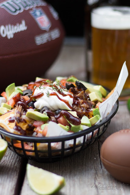 Beer Pulled Pork Nachos - Super Bowl Snack