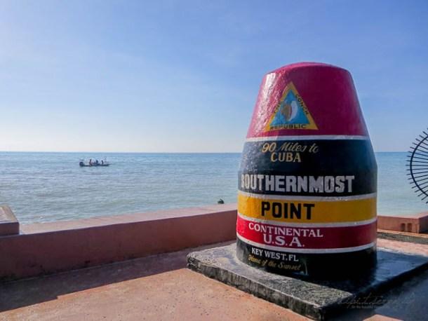 Typisch Key West, Florida - Southern Most Point - dipitontour