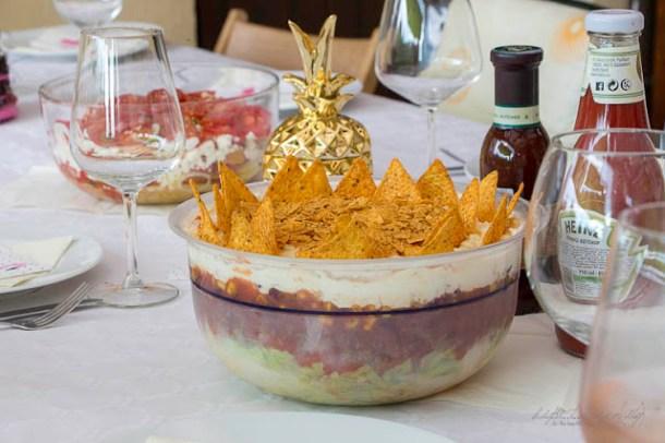 Mexicanischer Schichtsalat - California meets Balconia