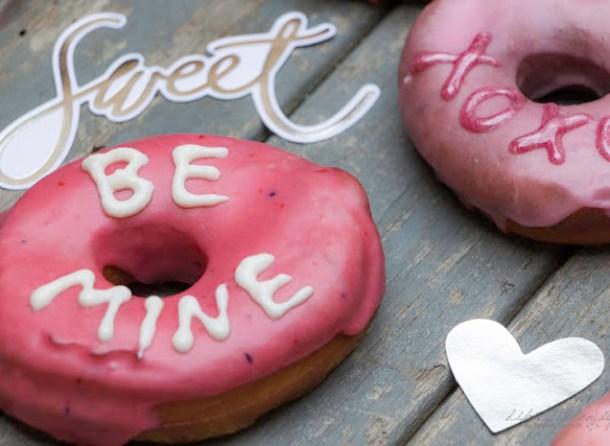 Donut mit Nachricht - Ruf mich an!