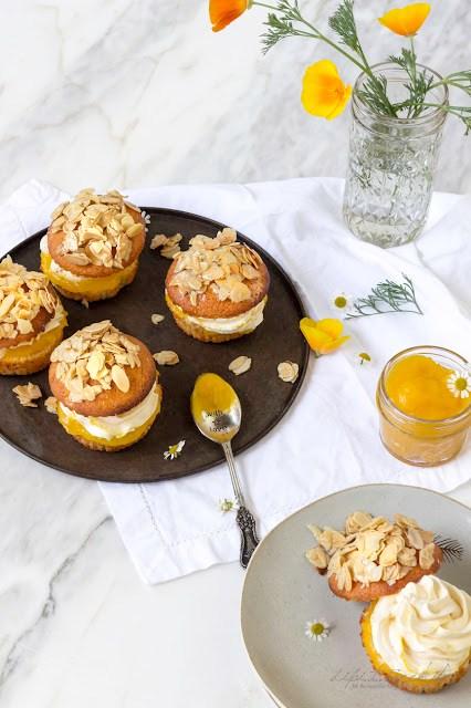 Mango-Bienenstich Muffins