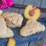 Große USA-Liebe in Bloggerhausen dazu ein paar Vanilla Peach Pie Scones