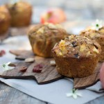 Apfel-Cranberry Knusper Muffins