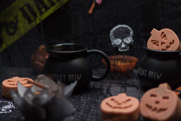 Brown Sugar Halloween Muffins