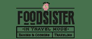 foodsister in travel mode Logo