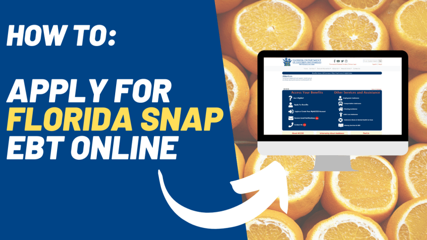 How to Apply for Florida SNAP EBT Online