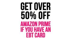 """Amazon EBT Discount"""